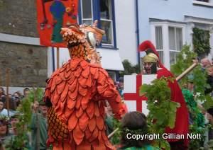 Hal-an-Tor George and dragon